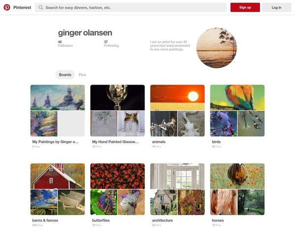 My Pinterest collection by Ginger Olansen