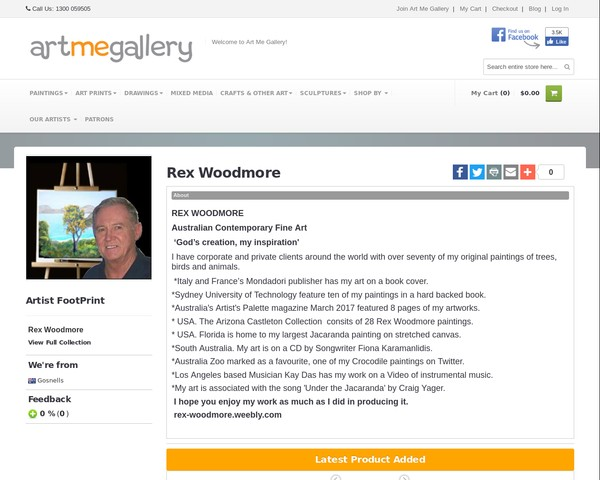 artmegallery - Rex Woodmore
