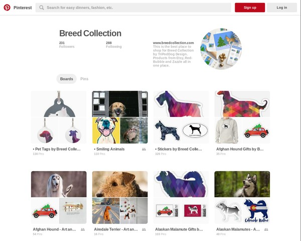 Pinterest • Breed Collection