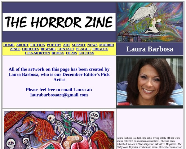 My Horror Zine Feature