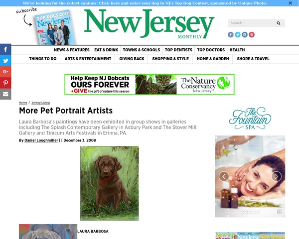 My NJ Monthly Feature